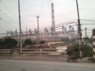 Photo of a power plant