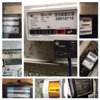 Meter photo collage.