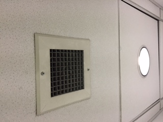 Photo of a vent in a library